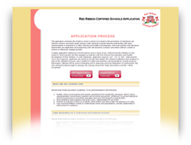 Red Ribbon Certification Application